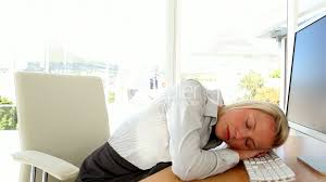 businesswoman having a nap royalty free video and stock footage