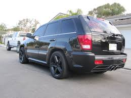 just dropped the jeep on bwoody u0027s cherokee srt8 forum