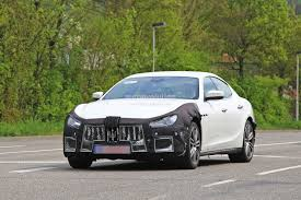 green maserati 2018 maserati ghibli facelift spied up close is this the new 450