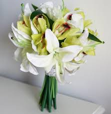 Silk Wedding Flowers Artificial Flowers Silk Flowers Lily Arrangment Artificial Silk