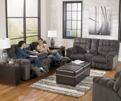 Reclining Sectional Sofas by Living Room 80484 Bonded Leather Reclining Sectional With Cup
