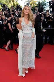 blake lively sparkles in chanel dress at mr turner premiere