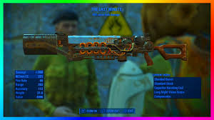 Fallout 4 Best Gauss Rifle Legendary