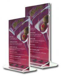 restaurant table top display stands wooden menu holder for restaurant table tops and bar counters