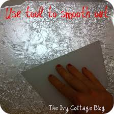 faux silver leaf tutorial from the ivy cottage blog positively faux silver leaf tutorial from the ivy cottage blog positively splendid crafts sewing recipes and home decor