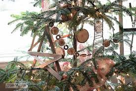 the little twiggy rustic christmas tree that was perfect for