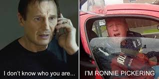 The Rock Meme Car - ronnie pickering road rage video is becoming a meme