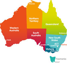 map of australia with cities and states australian states cities australia