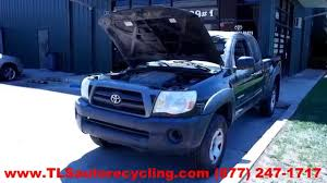 lexus tacoma parts parting out 2008 toyota tacoma stock 4069br tls auto recycling