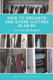 15 rv closet organization ideas rv inspiration