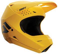 shift motocross helmets shift whit3 label helmet solid cycle gear