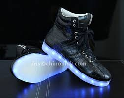 light shoes for mens new model long neck men led light sneakers shoes casual shoes for
