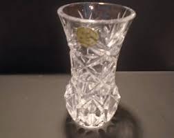 Atlantis Crystal Vase Lead Crystal Vase Etsy