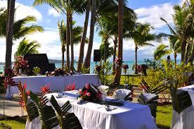 Wedding Table Set Up Weddings Le Vasa Resort Samoa