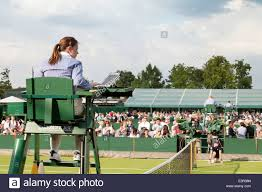 wimbledon tennis championship umpire all england lawn tennis club wimbledon london uk