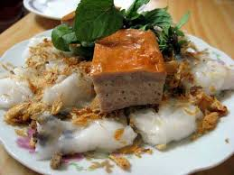 hanoi cuisine banh cuon steamed rice rolls a favourite food of