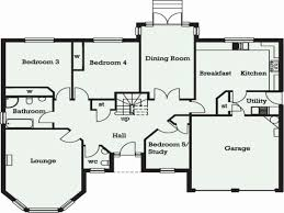 bungalow plans 5 bedroom house plans luxury 5 bedroom plan id house plans