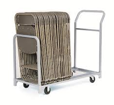 Rolling Beach Chair Cart Folding And Stacking Chair Cart Combination Handtrucks2go