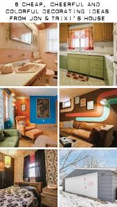 cheap retro home decor 6 cheap cheerful and colorful decorating ideas from jon trixi s