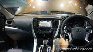 mitsubishi galant 2015 interior 2016 mitsubishi pajero sport dashboard full view at the big motor