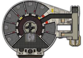 yt 1300f deck plan map star wars edge of the empire rpg ffg