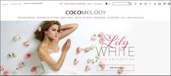bridal websites cocomelody your one stop to say yes to the dress curious