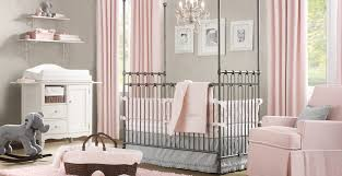 Pink And Grey Nursery Decor Simcoe Beautiful Nursery Ideas