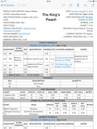 Call Sheet Template Cast And Crew Call Sheet Template Haisume