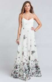 floral bridesmaid dresses chic floral bridesmaids dresses show me your mumu