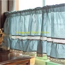 Kitchen Curtains Blue Fresh Cheap Kitchen Curtains Online Taste