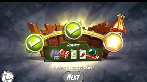 Challenge Angry Angry Birds 2 Silver Slam Daily Challenge Win