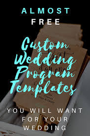 wedding programs vistaprint wedding planners amusing shutterfly wedding programs for make