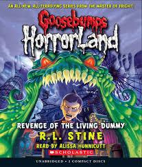 revenge of the living dummy goosebumps horrorland amazon co uk