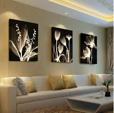 living room wall paintings living room decorative painting modern sofa background flower design