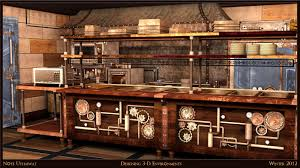 kitchen designs steam punk google search fish pond steam
