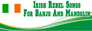 rebel songs on banjo tabs and letter notes tenor banjo tabs
