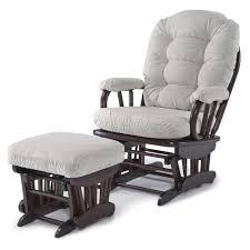 Rocking Chair Or Glider Best Chairs Geneva Glider Espresso Wood Linen Toys