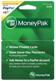 reload prepaid card with checking account moneypaks milestones