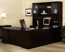 U Shaped Desks With Hutch Beautiful U Shaped Office Desk With Hutch Contemporary