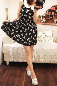 womens cotton dresses casual real photo pictures exquisite