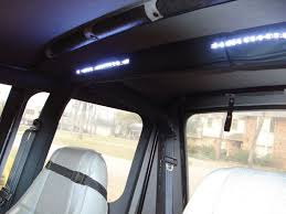 jeep wrangler unlimited interior lights my new interior lights jeep wrangler forum