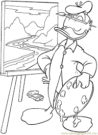 donald duck coloring 04 coloring free donald duck