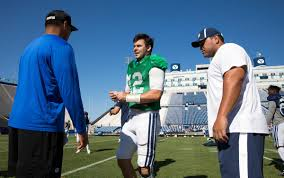 Byu by Byu Football Notes Mangum Making Progress But Status For Aggies