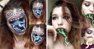 makeup artist makeup this 19 year makeup artist has some mad skills 10 pics