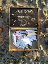 anniversary guest book anniversary guest book wish boats happiness is