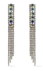 6 Beautiful Chandelier Earrings You Indie Xo Love Conquers All Waterfall Silver Swarovski Crystal Ab Rhine