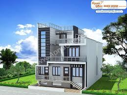 Create House Floor Plans Free 3 Bedrooms Duplex 2 Floors House Design In 220m2 10m X 22m