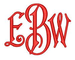 3 letter monogram 3 letter monograms etsy