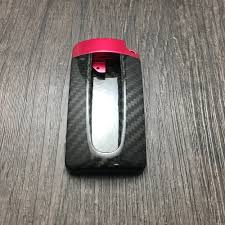 nissan 350z skin from polis genuine 100 carbon fiber car auto remote key case cover fob