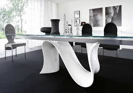 20 ways to white glass dining table